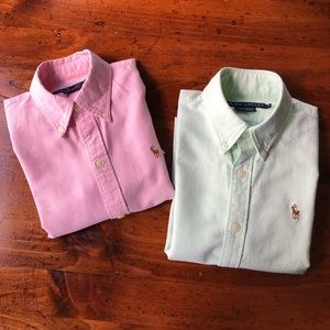 Polo Bundle Ralph Lauren Button Down Short Sleeve